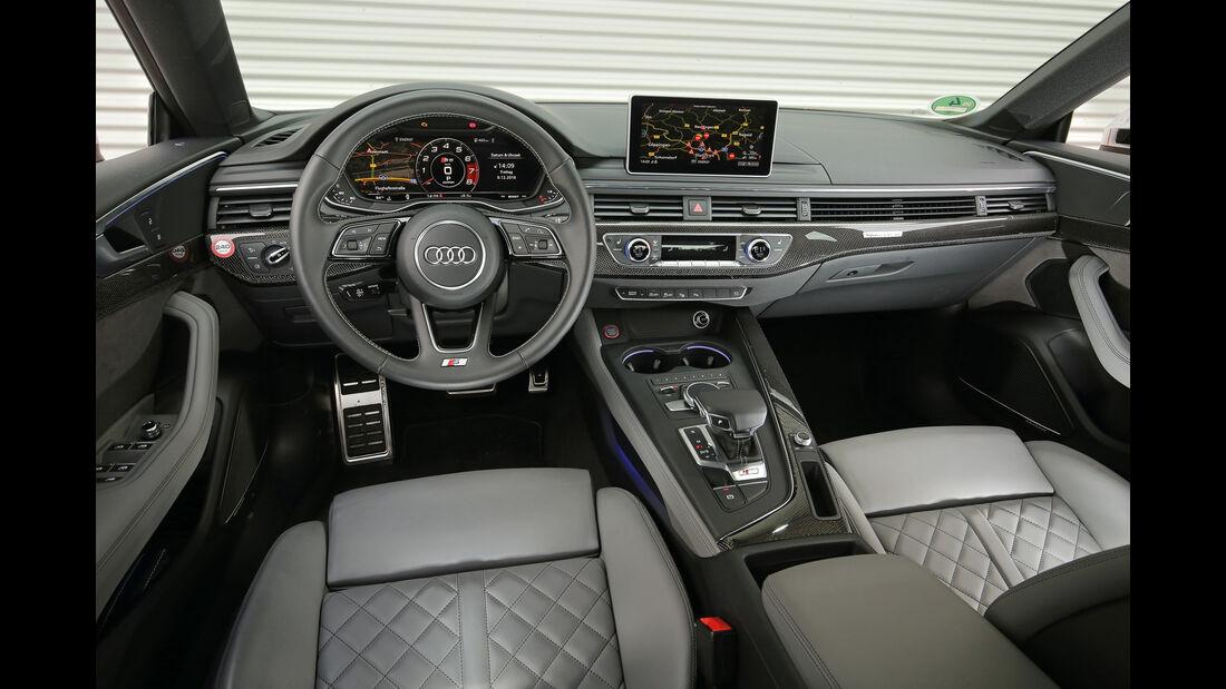 Audi S5 Sportback 3.0 TFSI, Cockpit