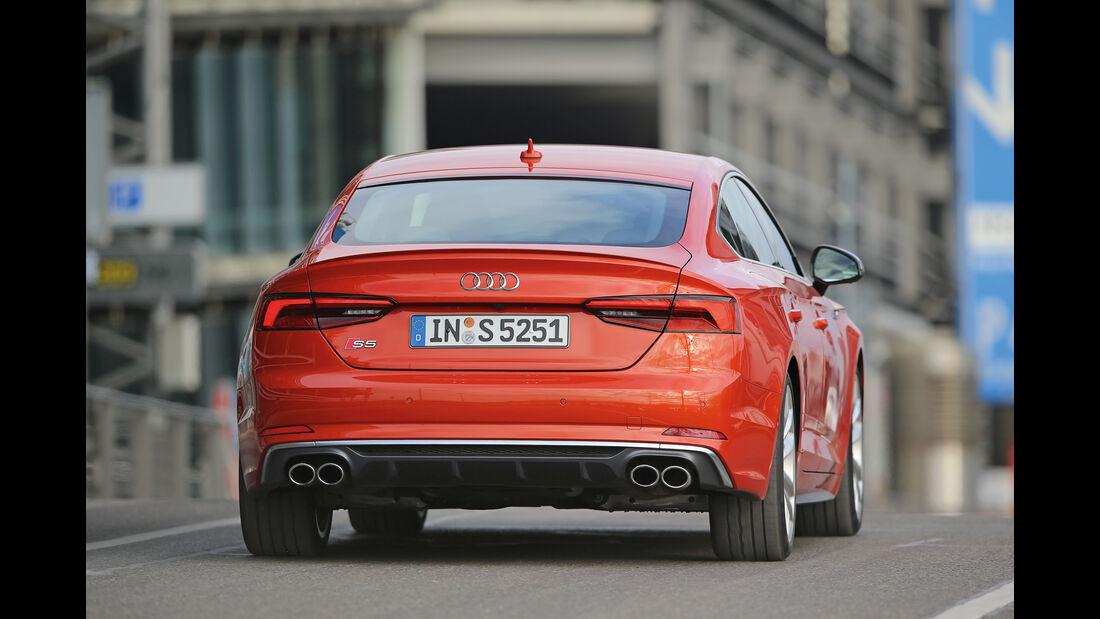 Audi S5 Sportback 3.0 TFSI, Heckansicht