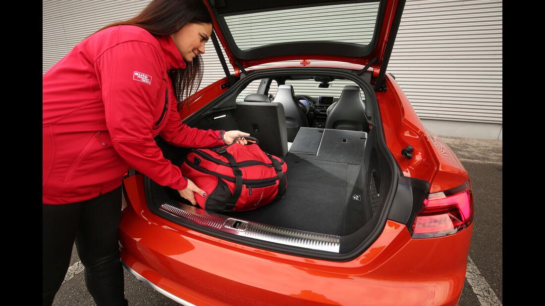 Audi S5 Sportback 3.0 TFSI, Kofferraum