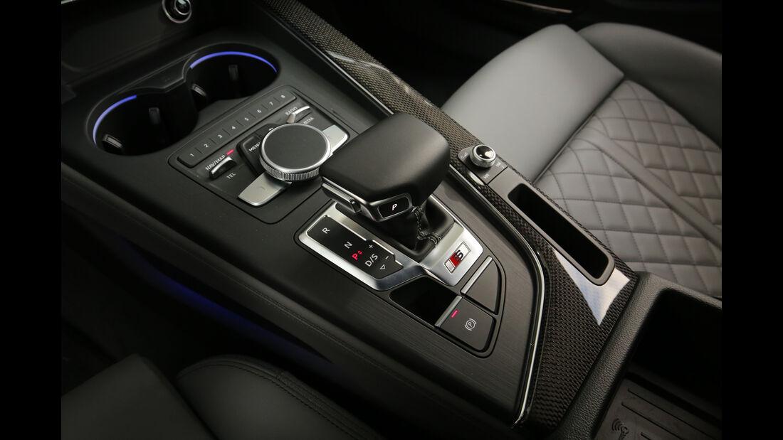 Audi S5 Sportback 3.0 TFSI, Schalthebel