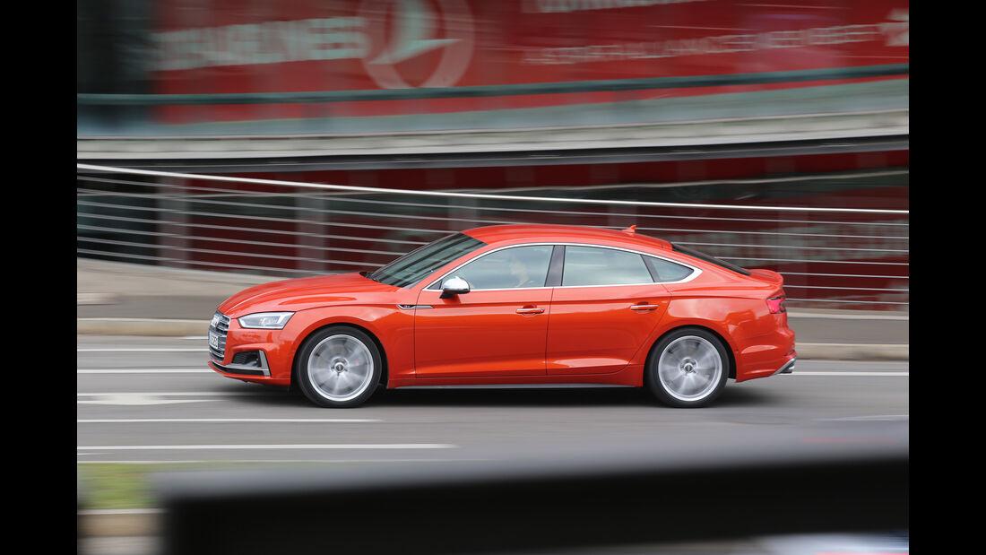 Audi S5 Sportback 3.0 TFSI, Seitenansicht