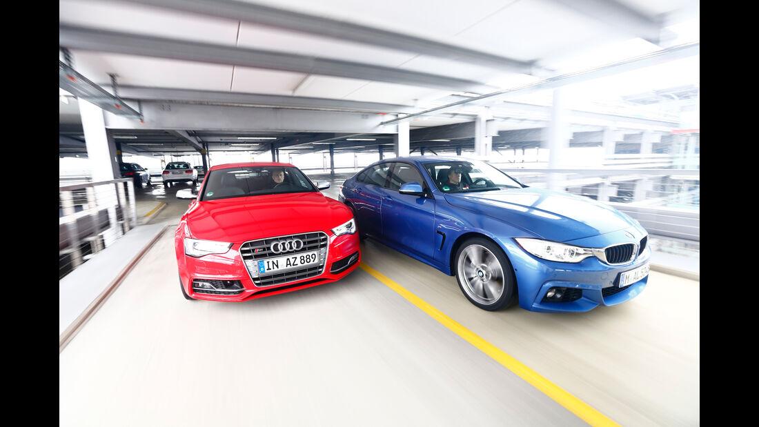 Audi S5 Sportback, BMW 435i Gran Coupé, Frontansicht