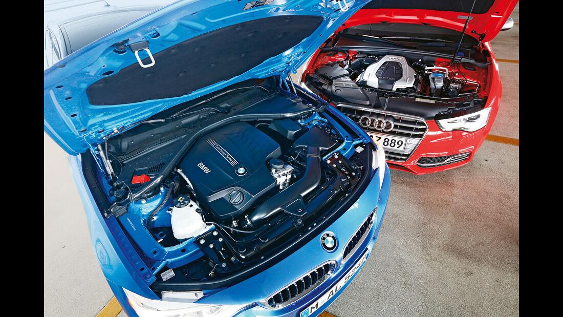 Audi S5 Sportback, BMW 435i Gran Coupé, Motoren