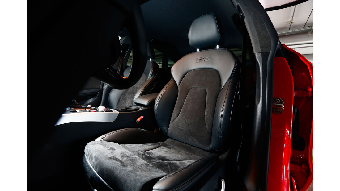Audi S5 Sportback, Fahrersitz