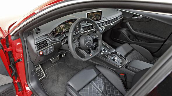 Audi S5 Sportback, Interieur