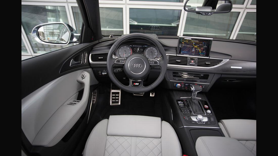 Audi S6 4.0 TFSI, Cockpit