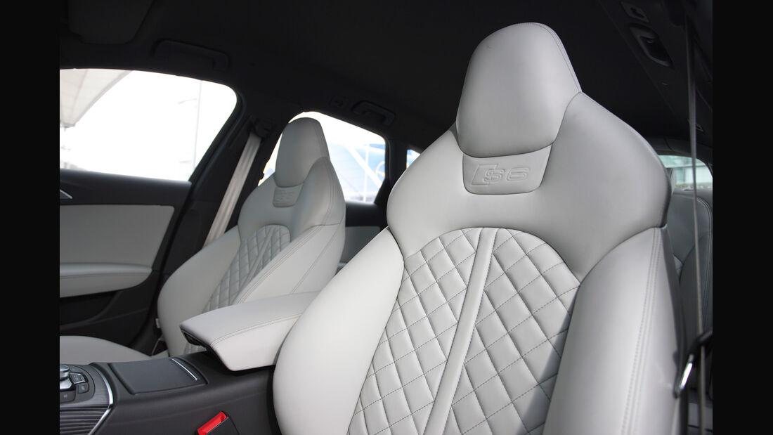 Audi S6 4.0 TFSI, Fahrersitz, Sportsitz