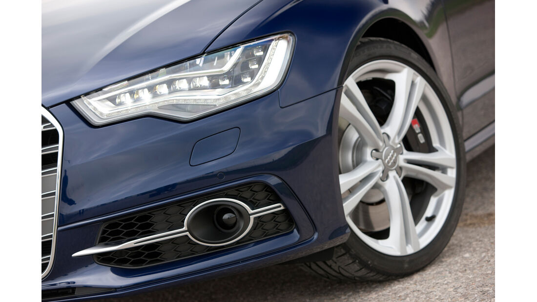 Audi S6 4.0 TFSI, Frontscheinwerfer
