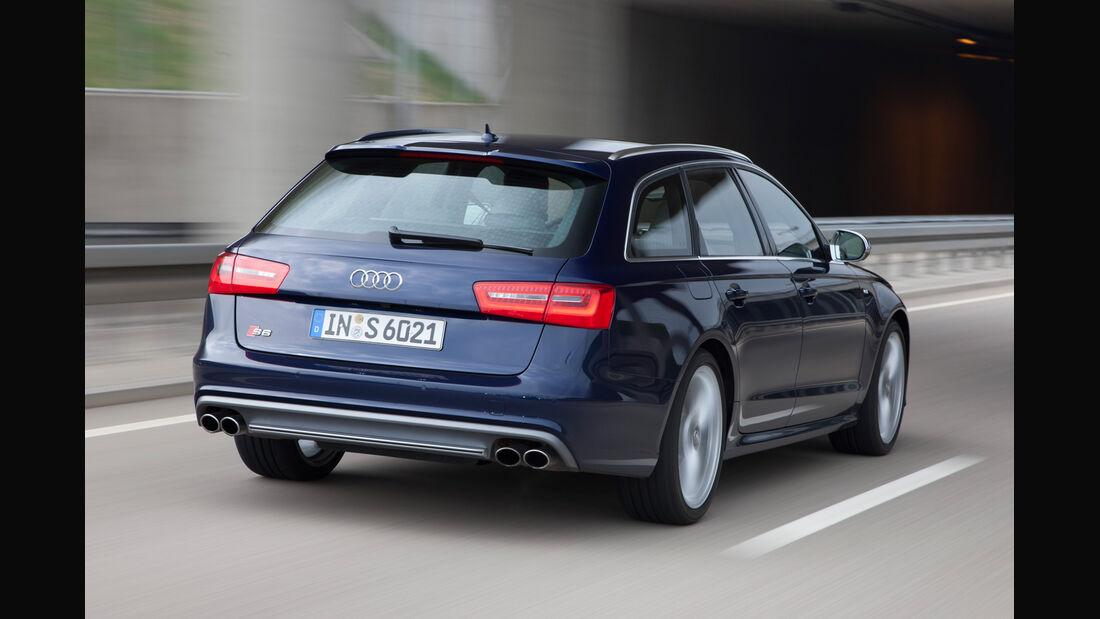 Audi S6 4.0 TFSI, Heck