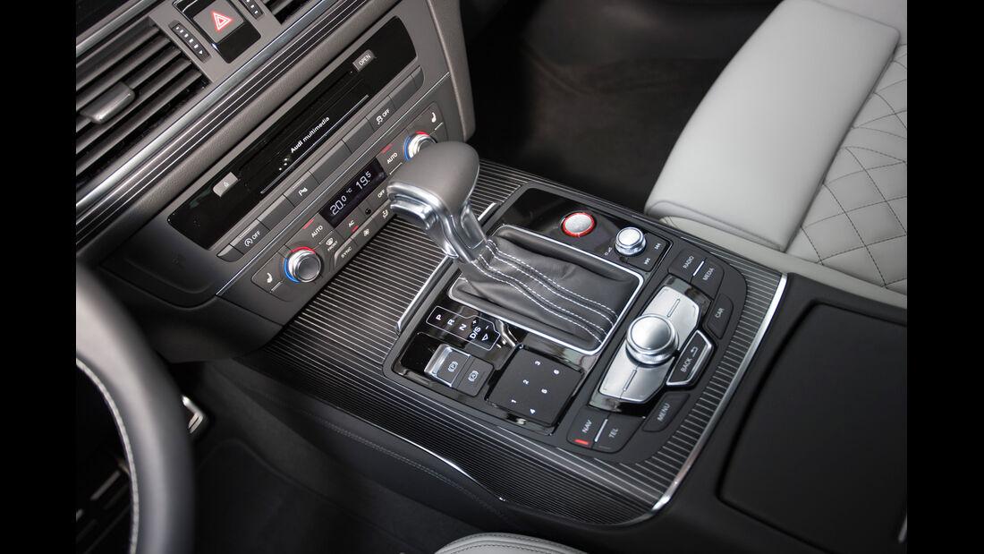 Audi S6 4.0 TFSI, Schalhebel, Schaltknauf