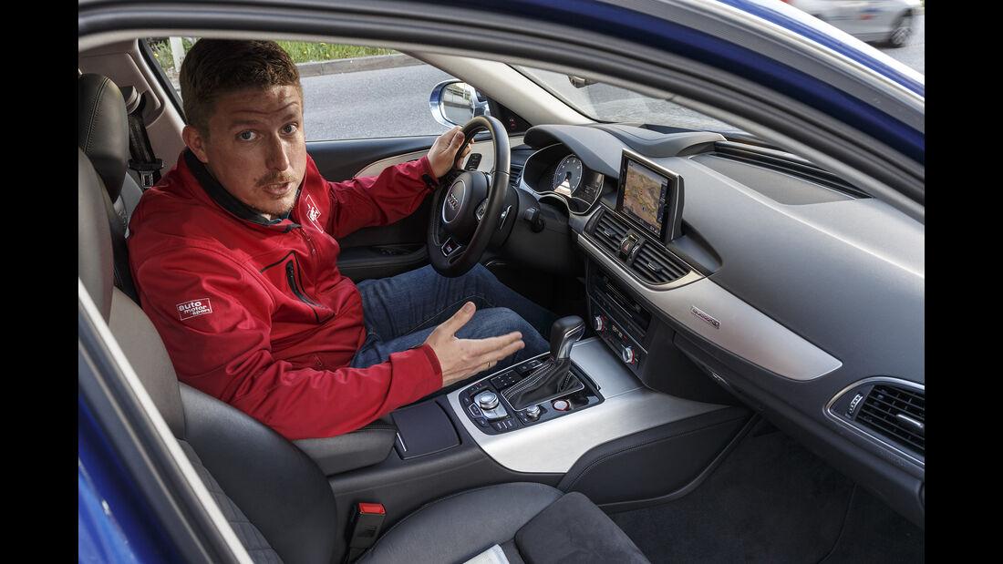 Audi S6 Avant, Interieur mit Jens Dralle