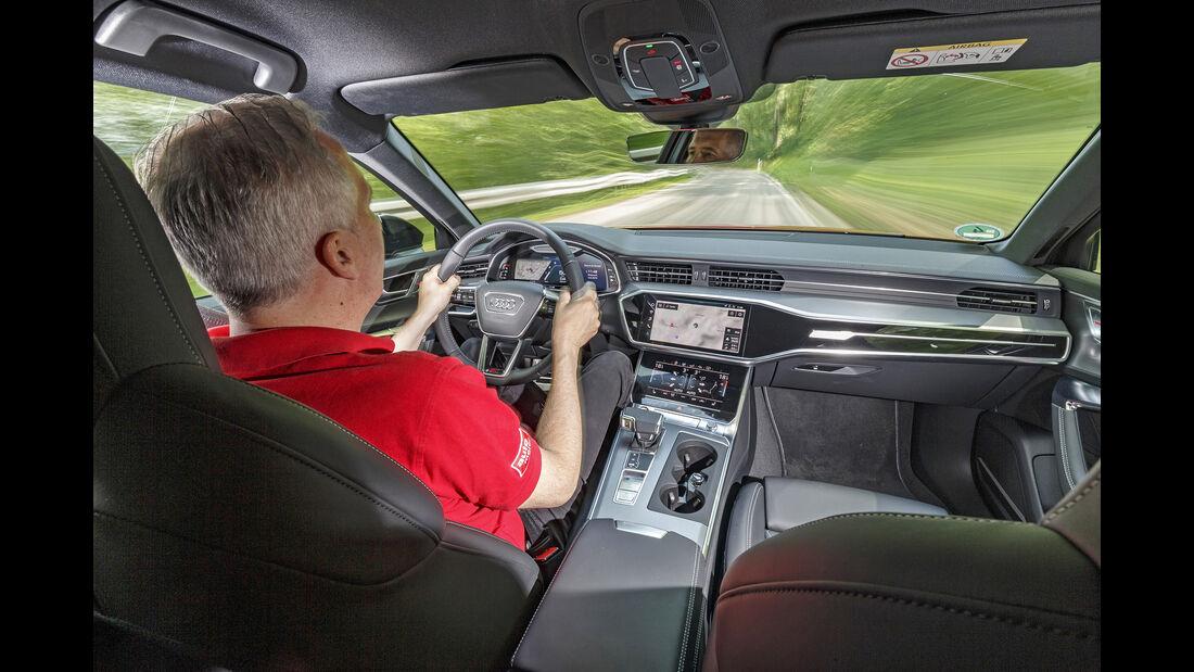 Audi S6 Avant TDI, Interieur