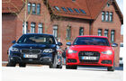 Audi S6, BMW 550i xDrive, Frontansicht