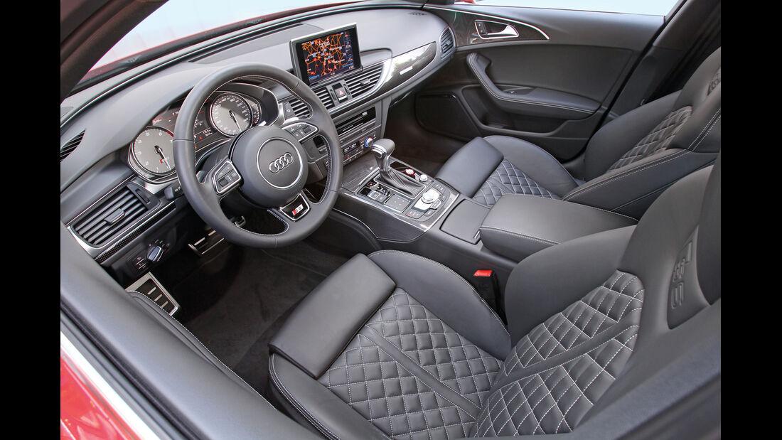 Audi S6, Cockpit, Lenkrad