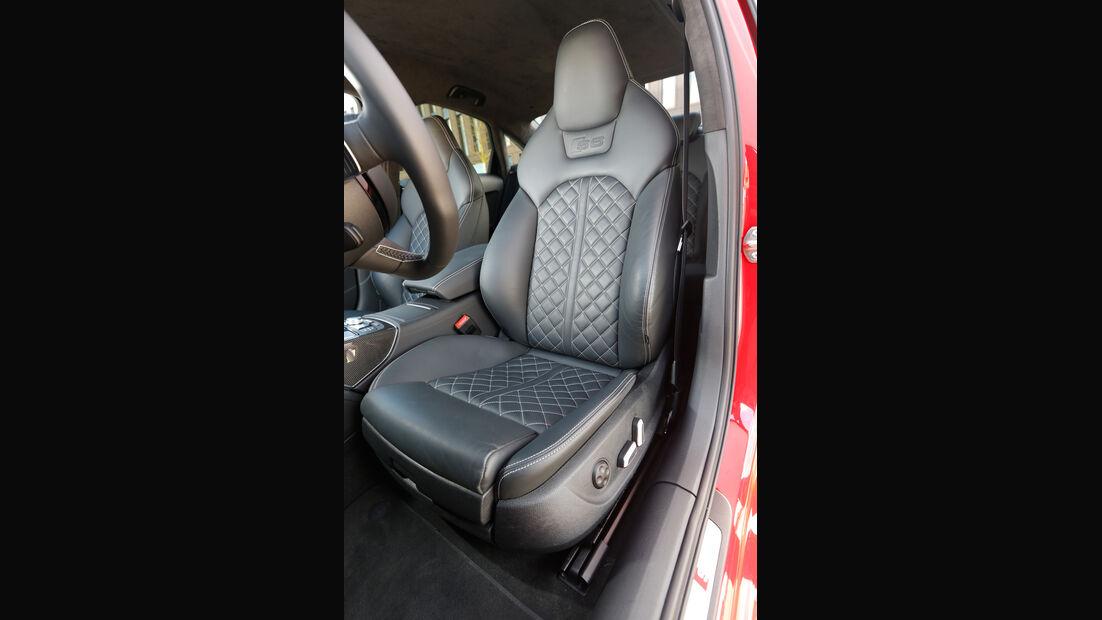 Audi S6, Fahrersitz