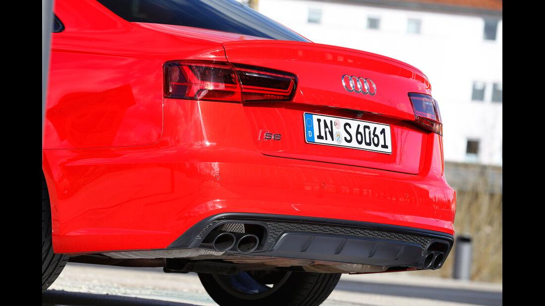 Audi S6, Heckleuchte
