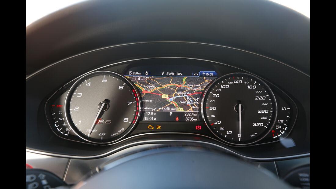 Audi S6, Rundinstrumente