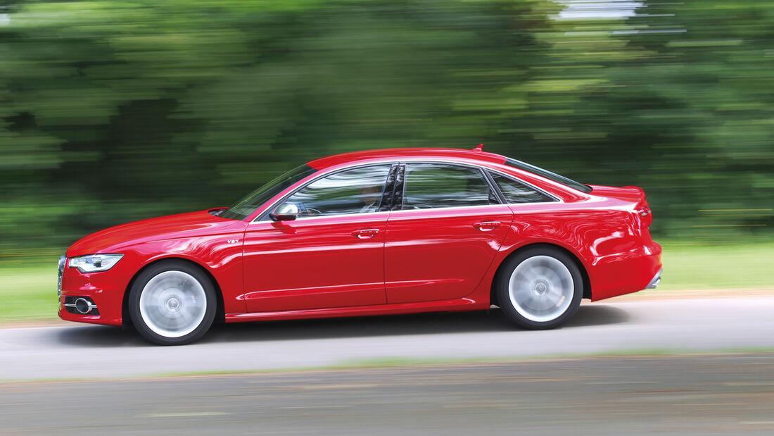 Audi S6, Seitenansicht