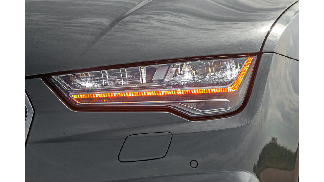 Audi S7 Sportback, Frontscheinwerfer