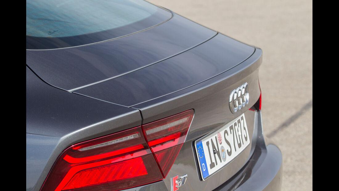 Audi S7 Sportback, Heck