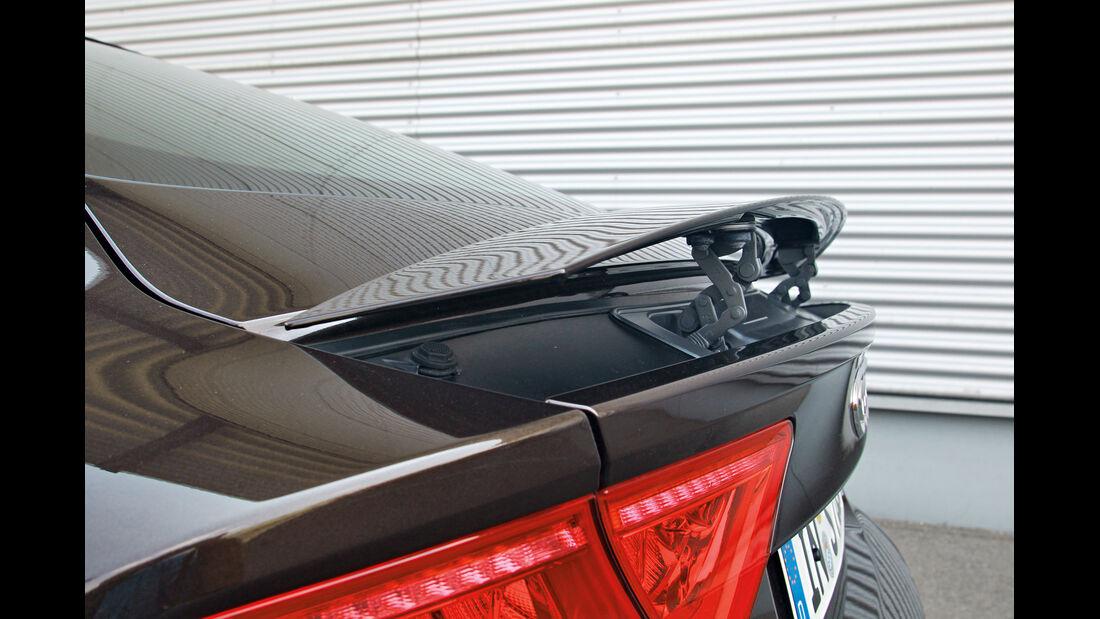 Audi S7 Sportback, Heckspoiler