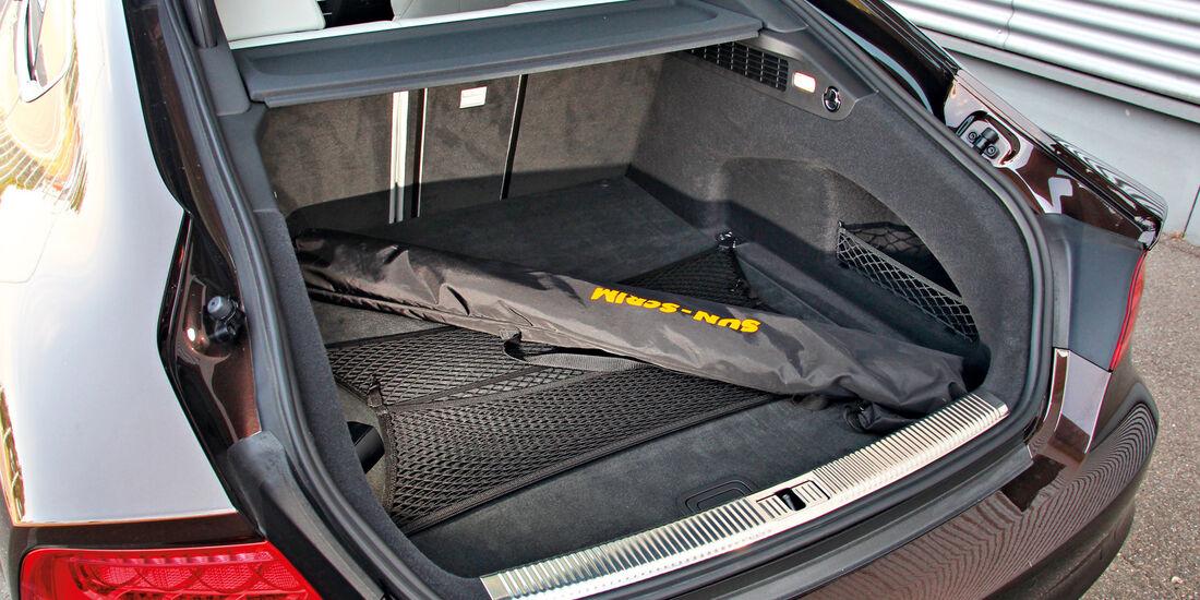 Audi S7 Sportback, Kofferraum