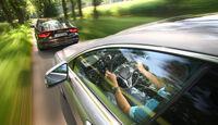 Audi S7 Sportback, Mercedes CLS 500 4matic, Heck