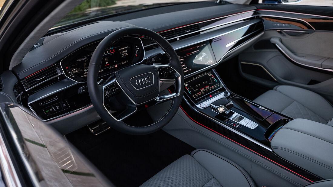 Audi S8 (2019), Cockpit
