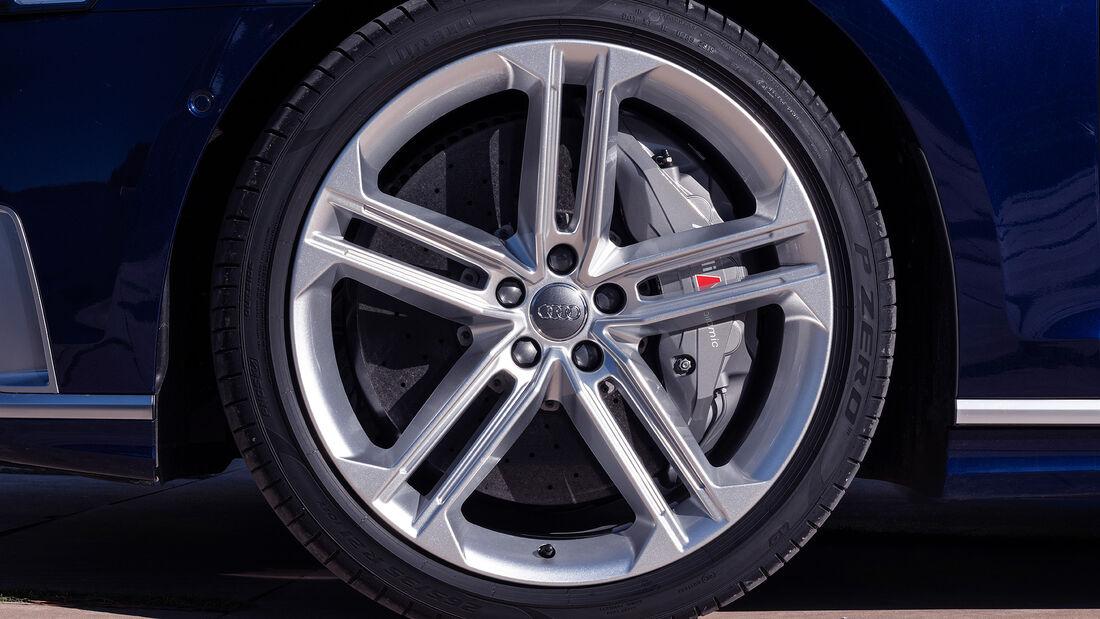 Audi S8 (2019), Felge, Bremse