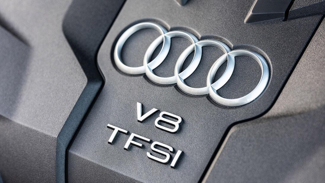 Audi S8 (2019), Motor