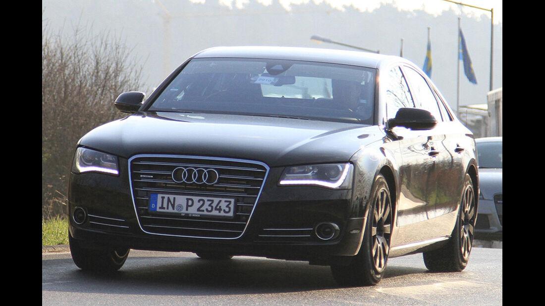 Audi S8 Erlkönig 04/2010