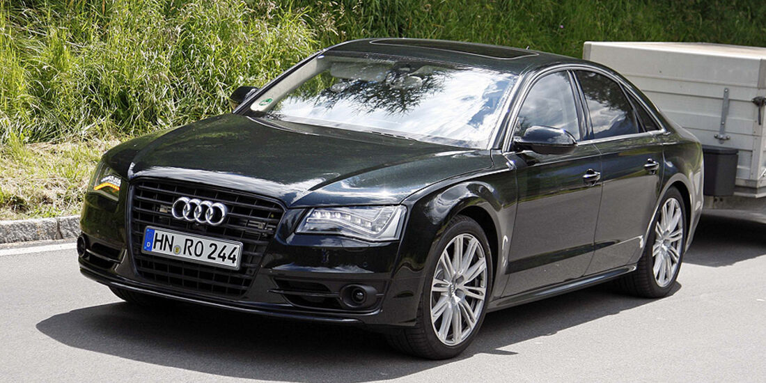 Audi S8 Erlkönig