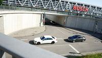Audi S8, Mercedes S 63 4Matic, Draufsicht