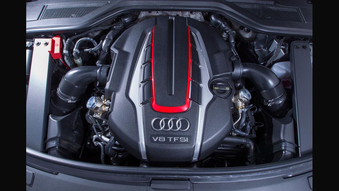 Audi S8, Motor