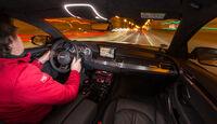 Audi S8 Plus 4.0 TFSI Quattro, Cockpit, Fahrersicht