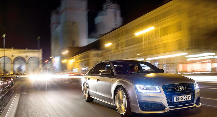Audi S8 Plus 4.0 TFSI Quattro, Frontansicht