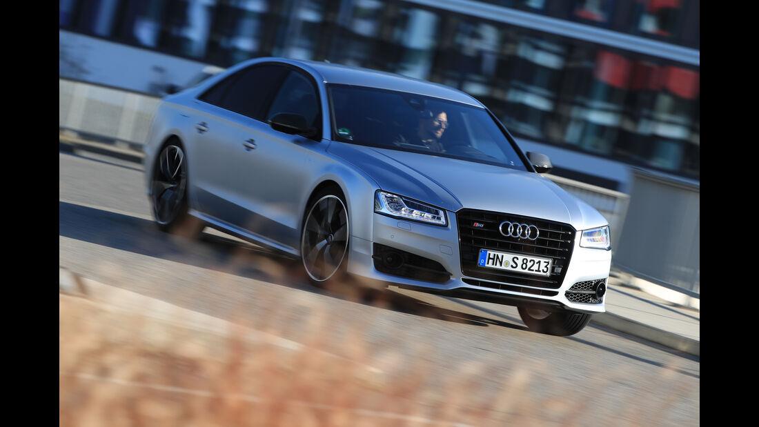 Audi S8 Plus, Frontansicht