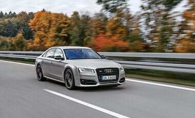 Audi S8 Plus - Limousine - Fahrbericht - V8