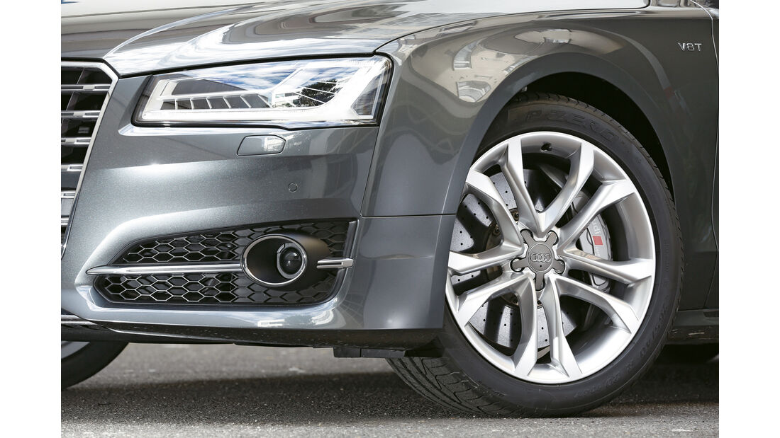 Audi S8, Rad, Felge