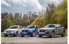 Audi SQ5 3.0 TDI, BMW X4 xDrive 35d, Jaguar F-Pace 30d