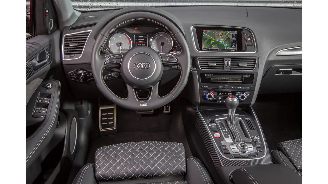 Audi SQ5 3.0 TDI, Cockpit