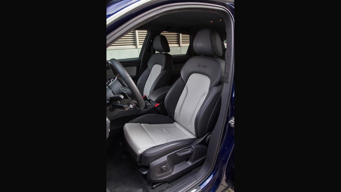 Audi SQ5 3.0 TDI, Fahrersitz