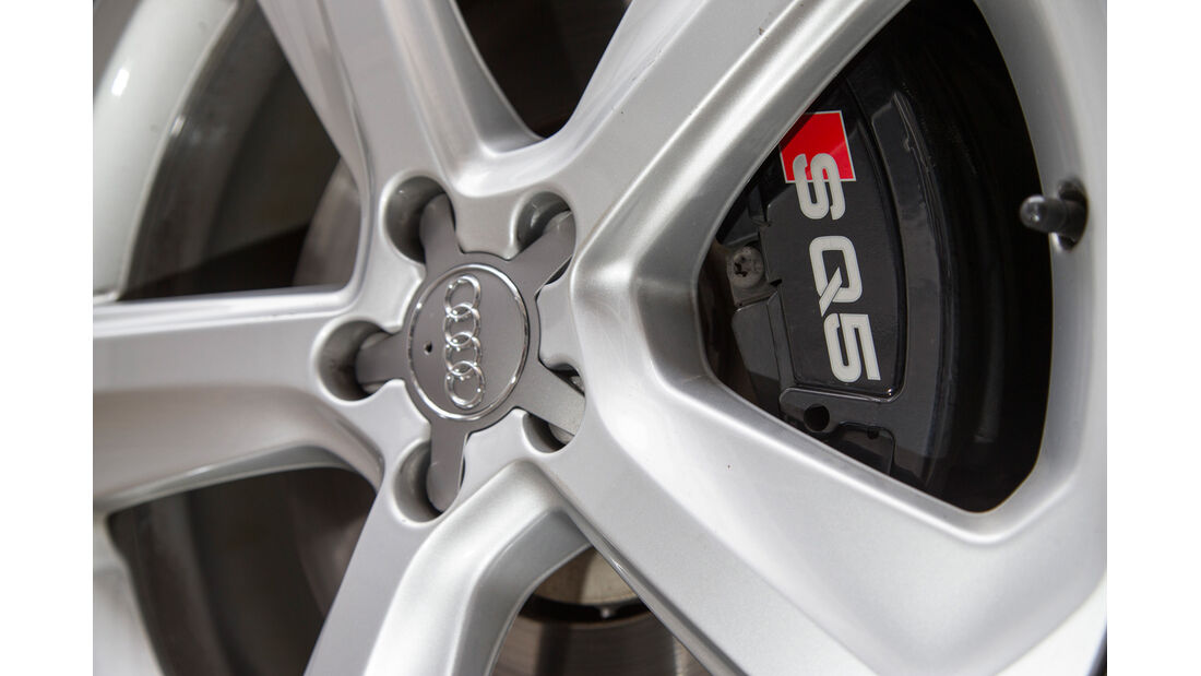 Audi SQ5 3.0 TDI, Felge, Bremse