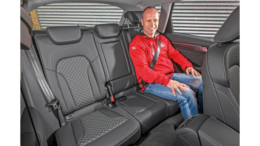 Audi SQ5 3.0 TDI, Fondsitz