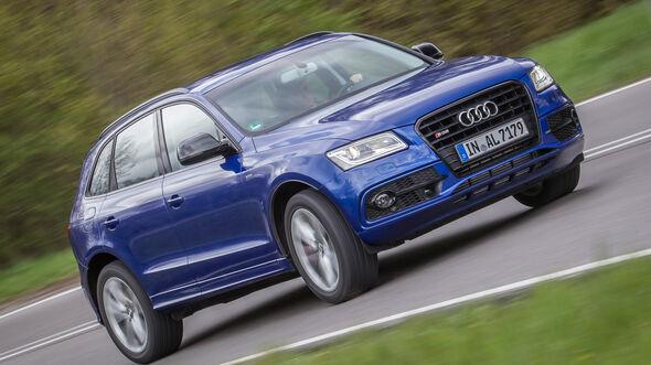 Audi SQ5 3.0 TDI, Frontansicht
