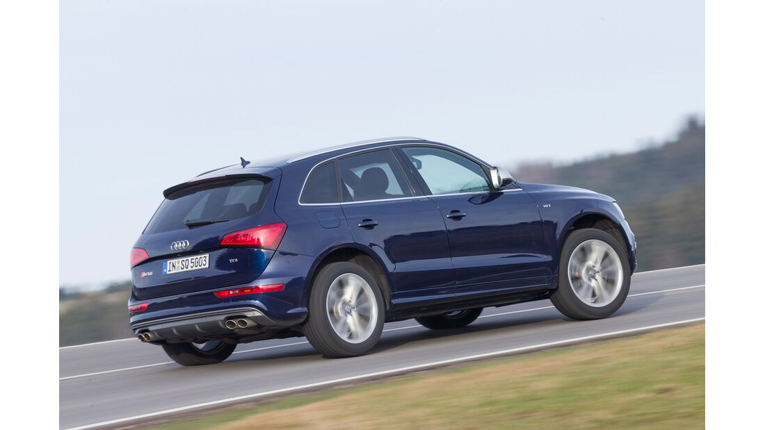 Audi SQ5 3.0 TDI, Heckansicht