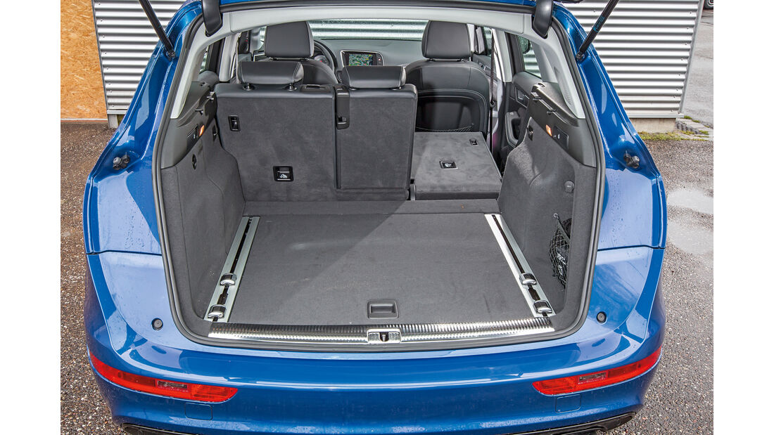 Audi SQ5 3.0 TDI, Kofferraum