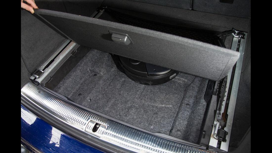Audi SQ5 3.0 TDI, Kofferraum, Ablagefach