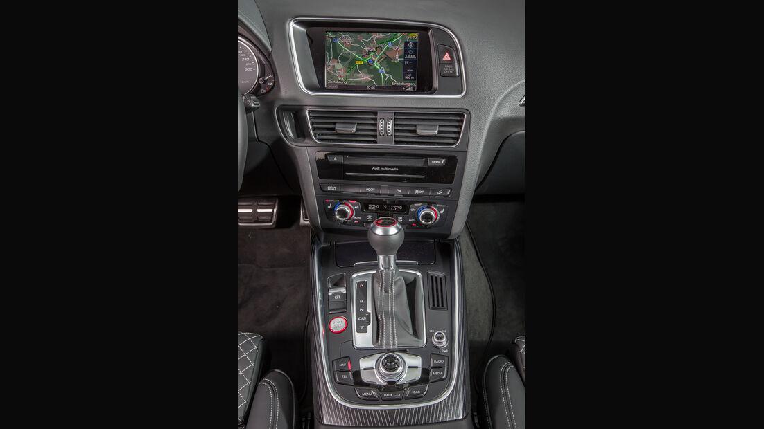 Audi SQ5 3.0 TDI, Mittelkonsole