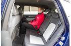 Audi SQ5 3.0 TDI, Rücksitz, Beinfreiheit